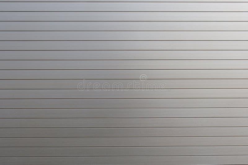 Metal Roller Shutter Texture. A metal roller shutter texture as a background stock photo