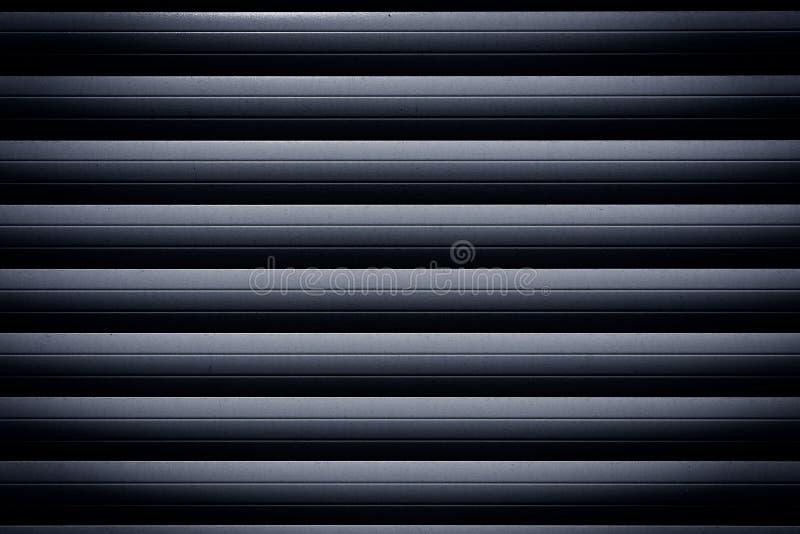 Metal roller shutter. Texture backhround stock image