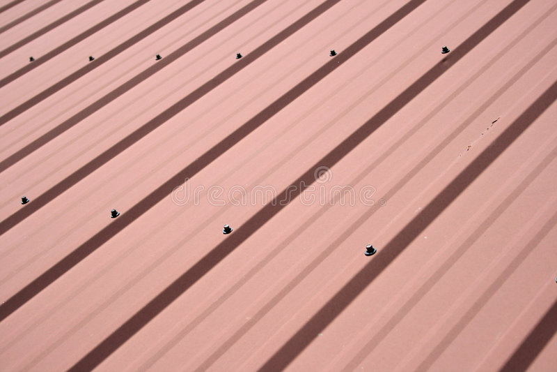 Metal Roof Background Stock Image Image Of Screws