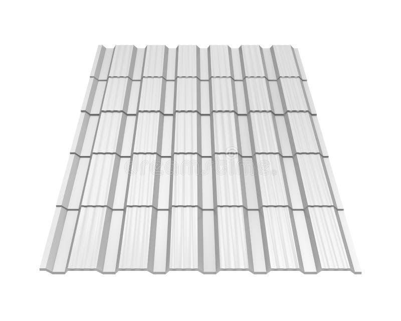 Metal Roof Tiles Isolated Stock Illustration Illustration Of Estate 172303848