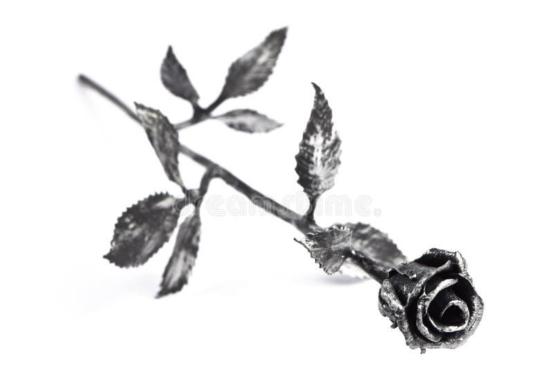 Download Metal rose stock image. Image of flower, despair, romantic - 25257355
