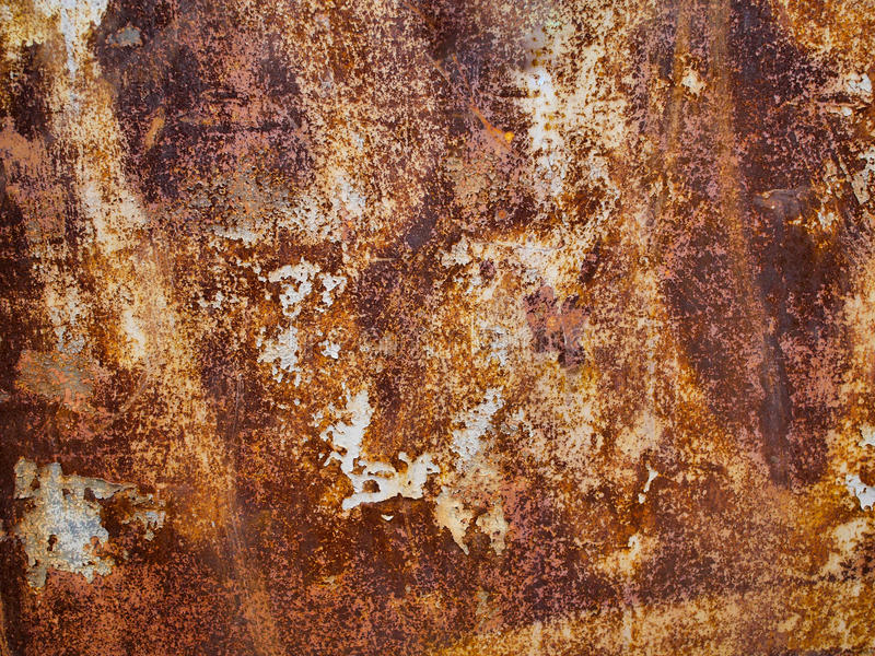 Metal rust texture, abstract grunge background royalty free stock photo