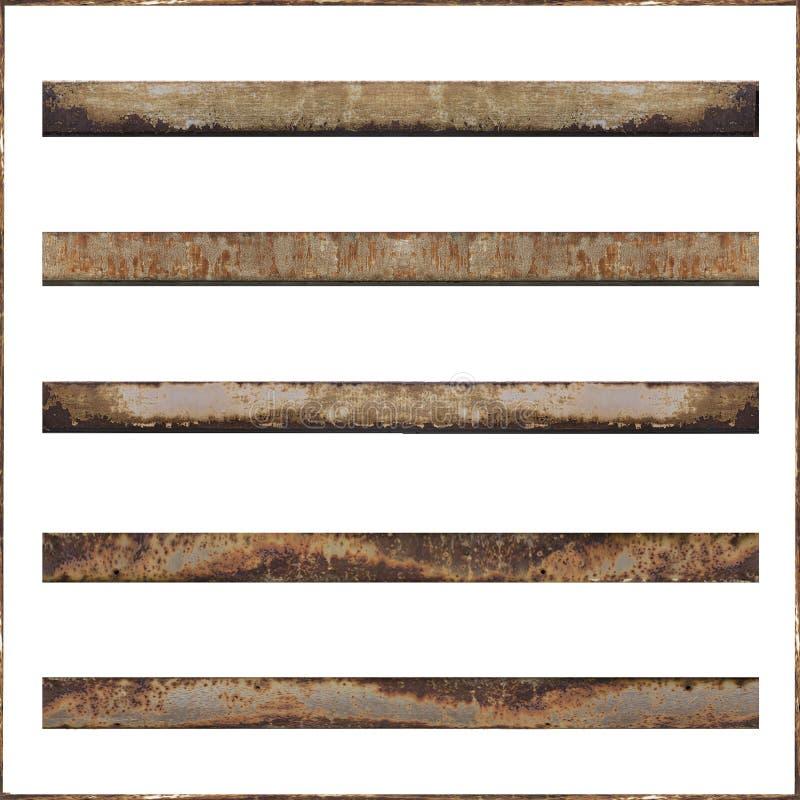 metal rusty bars stock illustration