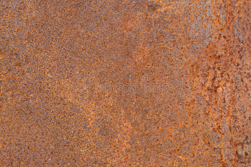 Metal rusty surface. Metal old scratched rusty surface stock photography