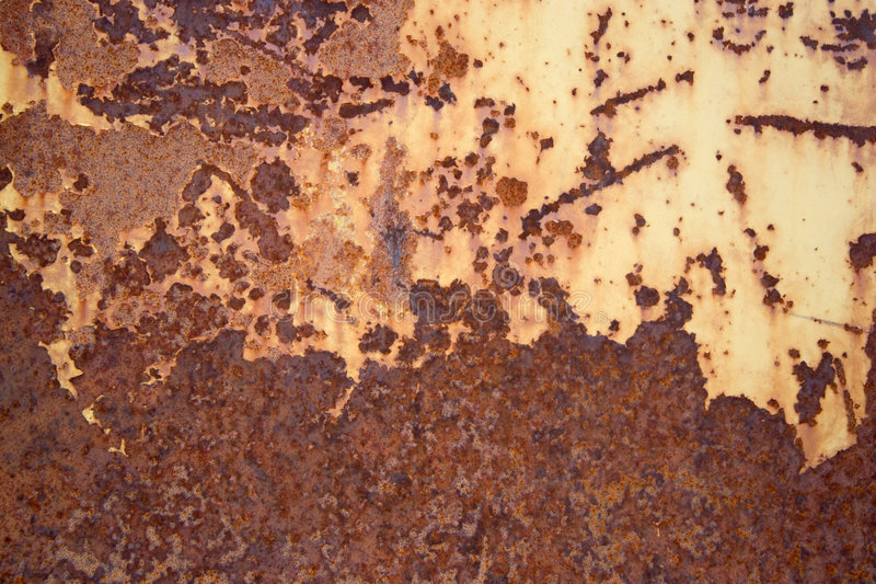 Metal rusty surface. Metal old scratched rusty surface stock image