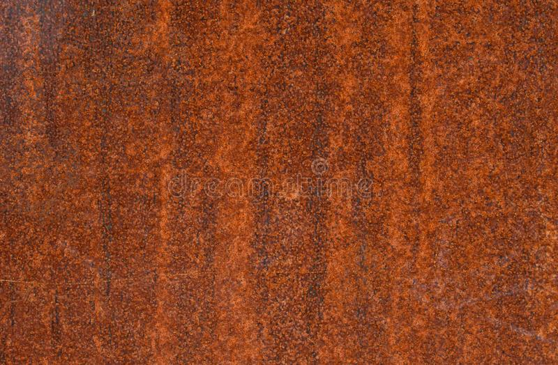 Metal rusty surface. With orange color, background texture stock photography