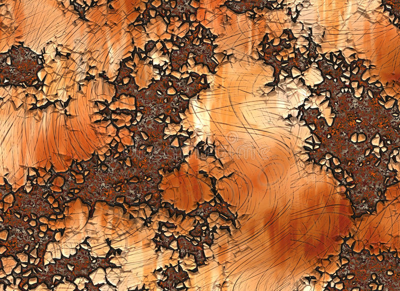 Metal rusty texture. painted backgrounds stock photography