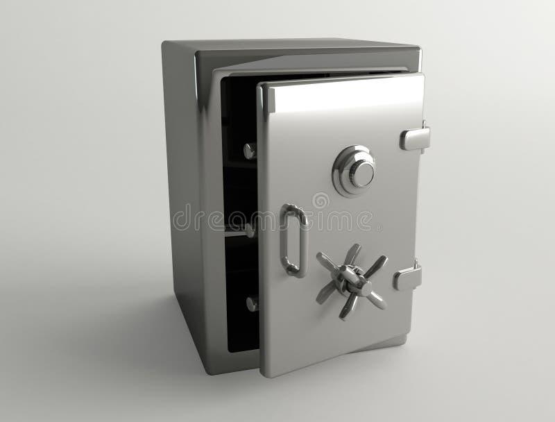 Metal Safe-box royalty free stock photo