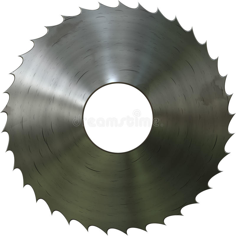 Download Metal saw stock illustration. Image of hardware, steel - 24432039