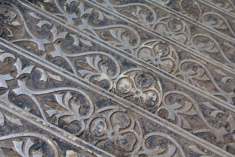 Metal sceny retro schodki zdjęcia stock