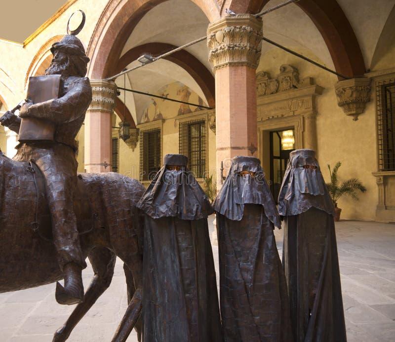 Download Metal Sculptures In Palazzo Stock Image - Image: 28994073