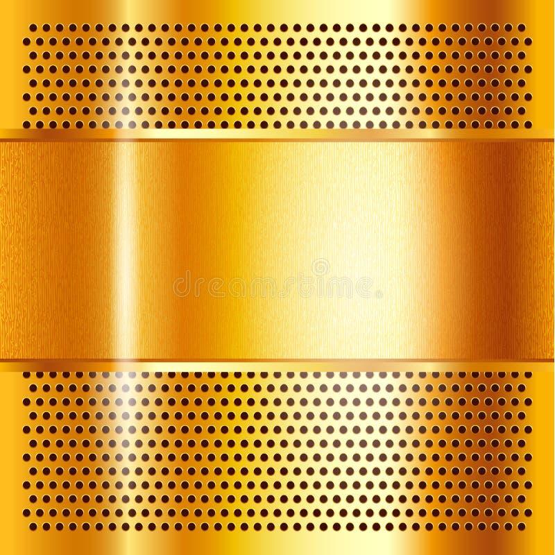 Free Metal Sheet Gold Royalty Free Stock Photography - 79445277
