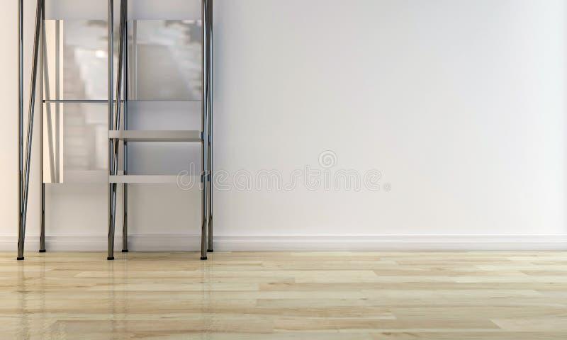 Metal shelf vector illustration