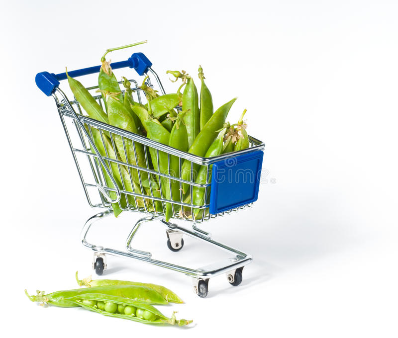Download Metal shopping trolley stock photo. Image of store, shopping - 15005634
