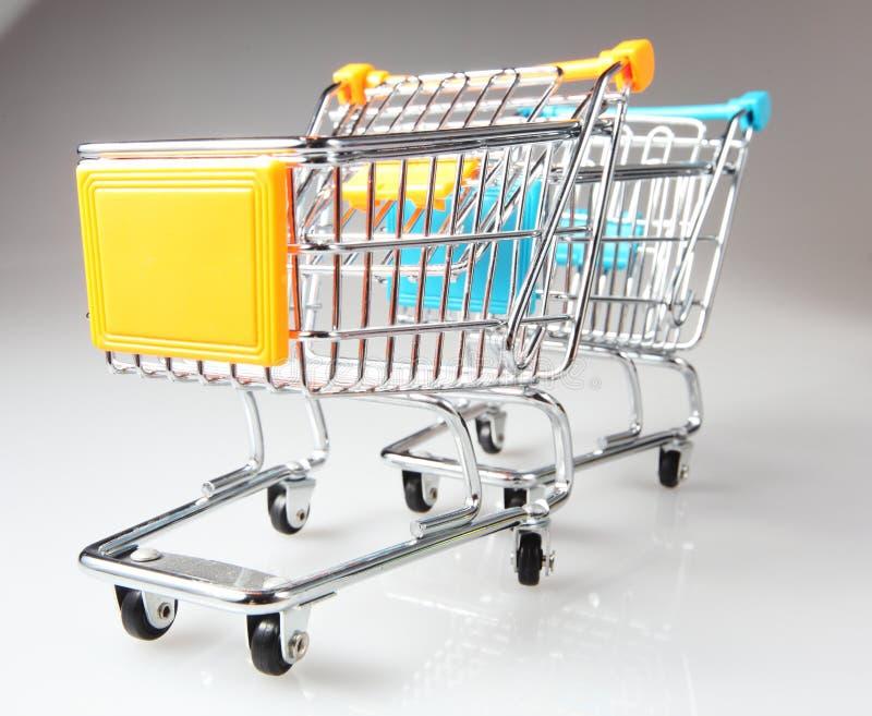 Download Metal Shopping Trolley Royalty Free Stock Photos - Image: 24091528
