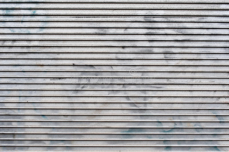 Metal shutters abstract background stock photos