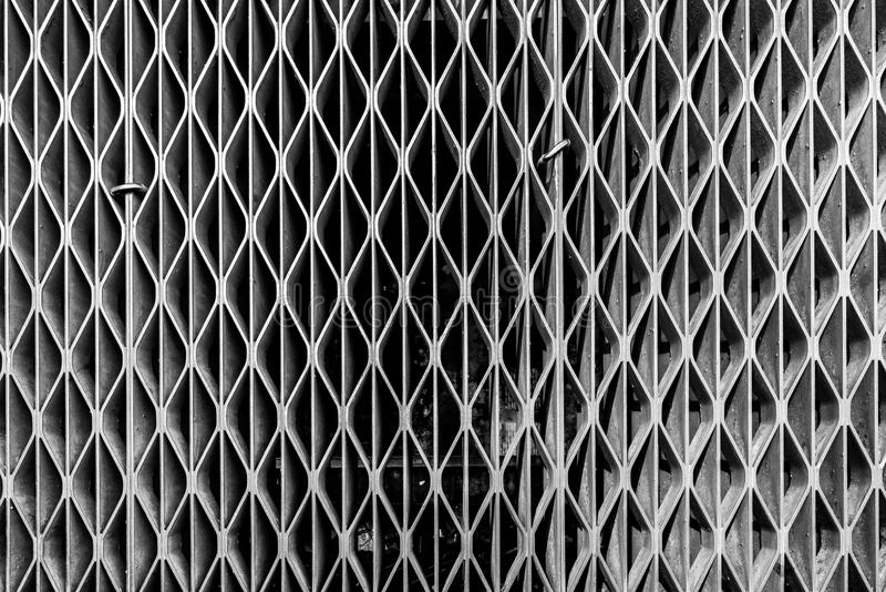 Metal siatki grill od airvent fotografia royalty free