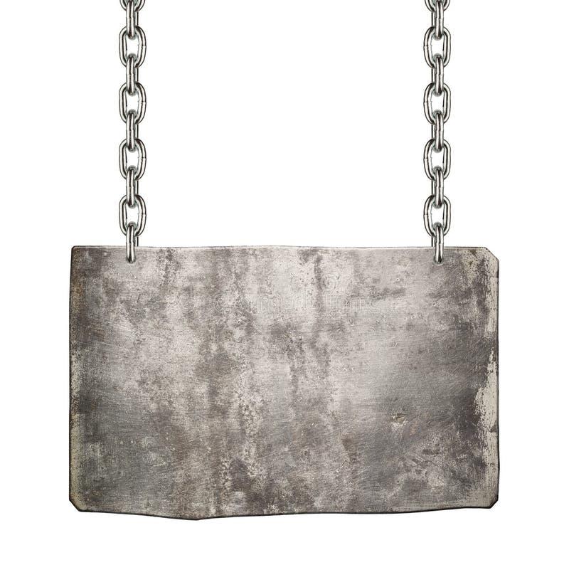 Free Metal Singn Royalty Free Stock Image - 34850896