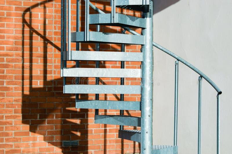 Download Metal Spiral Stairs Stock Photo   Image: 62600089