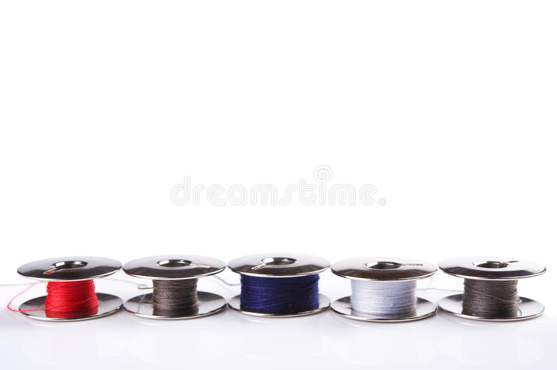 Download Metal spools stock photo. Image of colourful, detail - 19793354