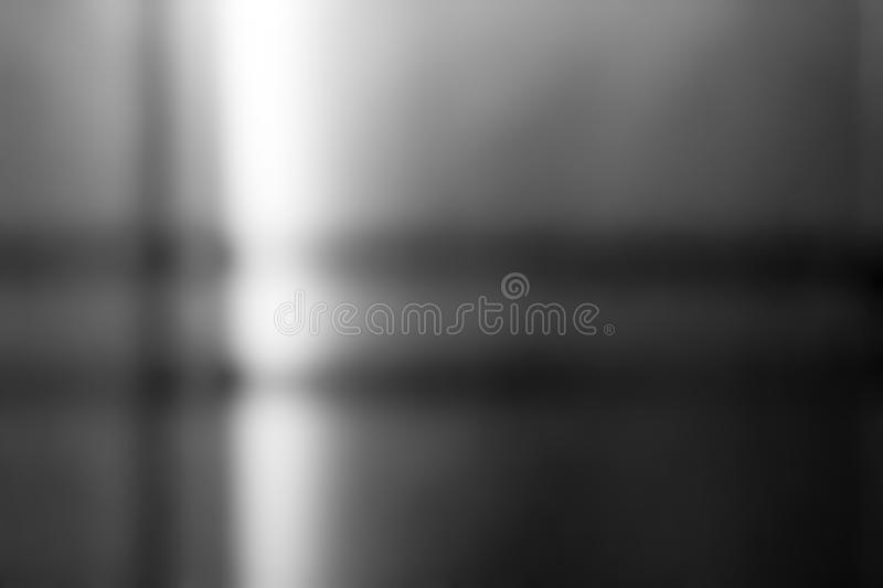 Metal stainless steel surface background or aluminum brushed silver metal with reflection. royalty free stock images