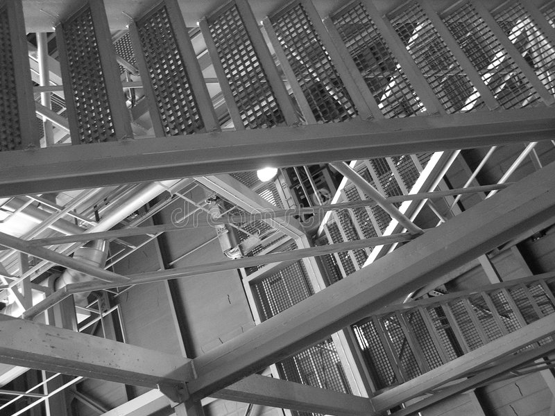 Download The Metal Stairs stock image. Image of iron, line, stair - 2344513