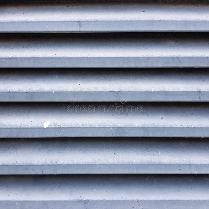 Metal stripe background textured pattern. Iron, zinc, backdrop, abstract, full-frame, desktop, sheet, sheet-metal, construction, wall, material, metallic royalty free stock image