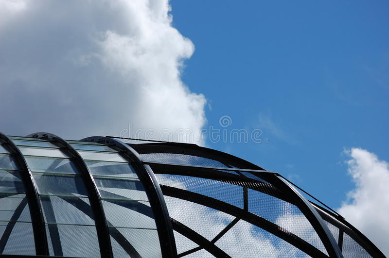 Download A metal structure stock image. Image of perspective, black - 20665969