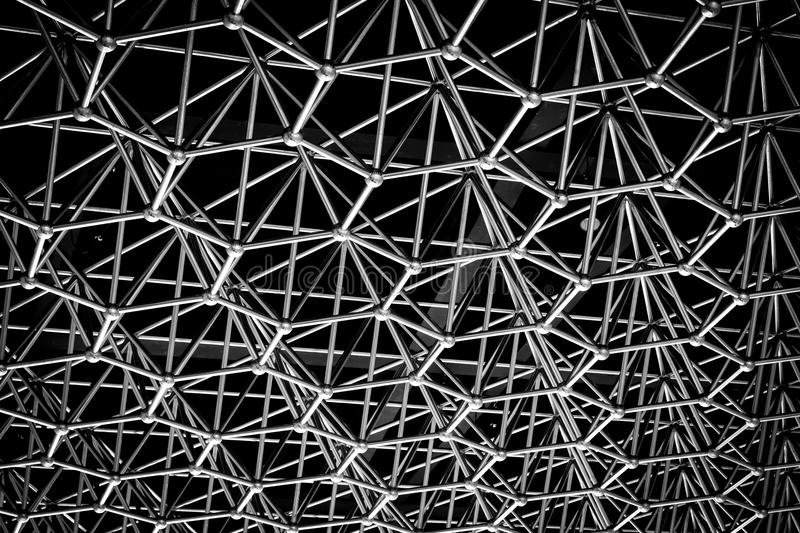 Metal structure background stock photos