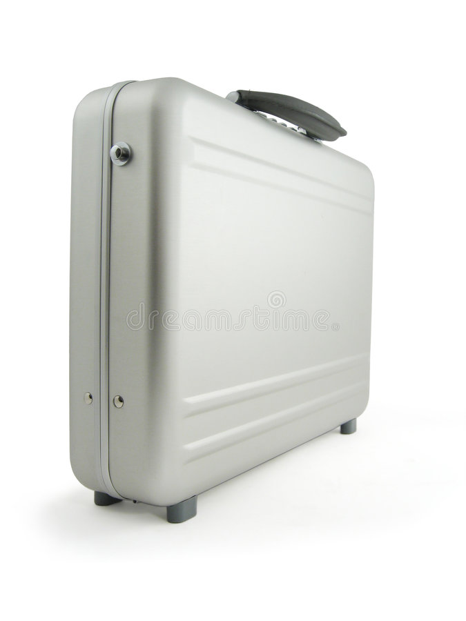 Download Metal suitcase, luggage stock image. Image of safe, business - 5962123