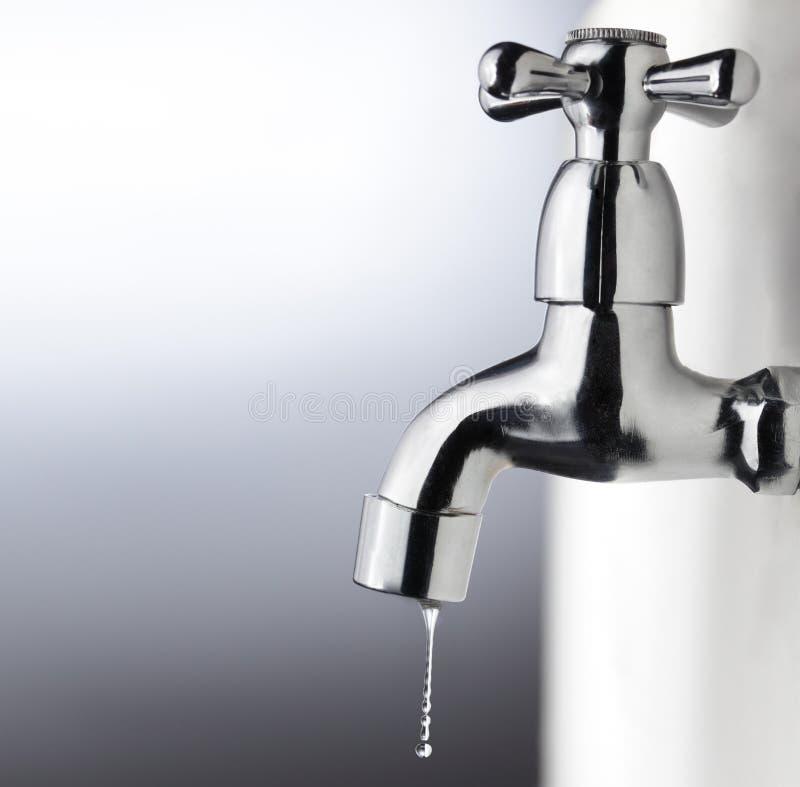 Metal tap stock photo