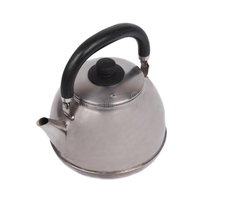 Download Metal teapot stock photo. Image of container, isolated - 13875870