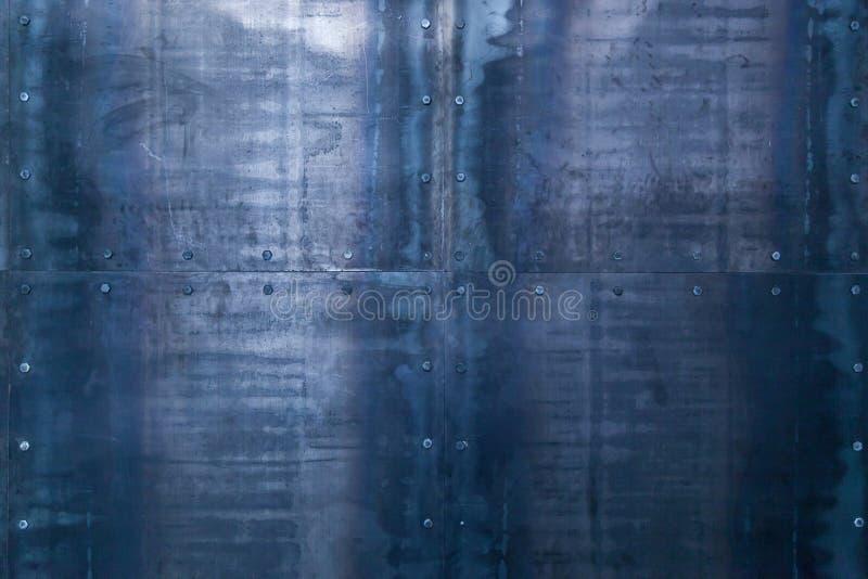 Metal tekstura na ścianie zdjęcie royalty free
