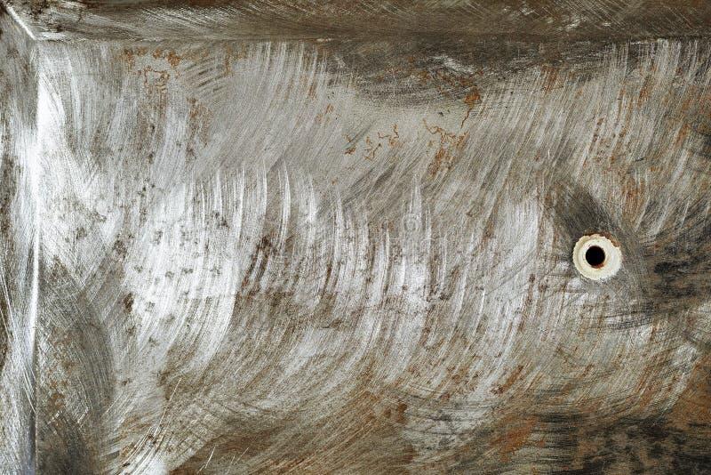 Metal tekstury obrazy royalty free