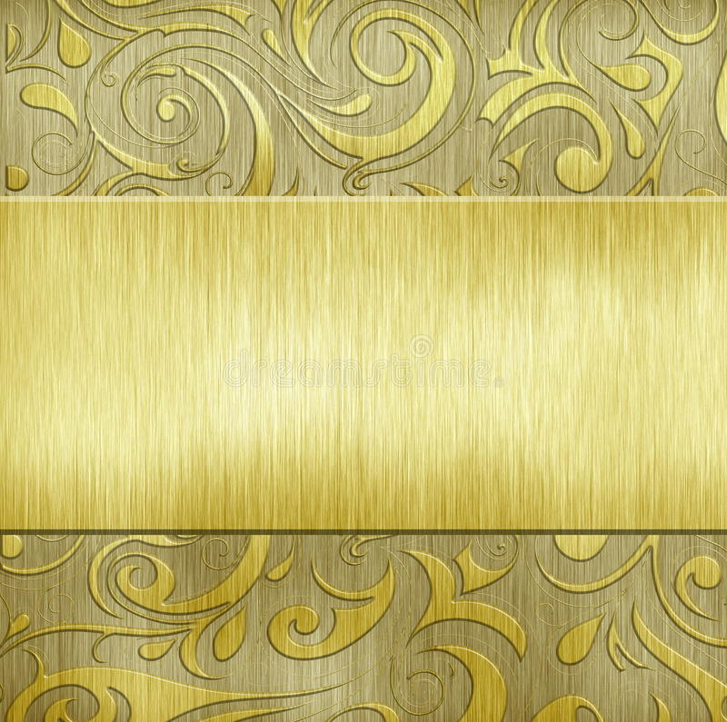 Metal Texture Stock Photo Image Of Brass Chrome Gold