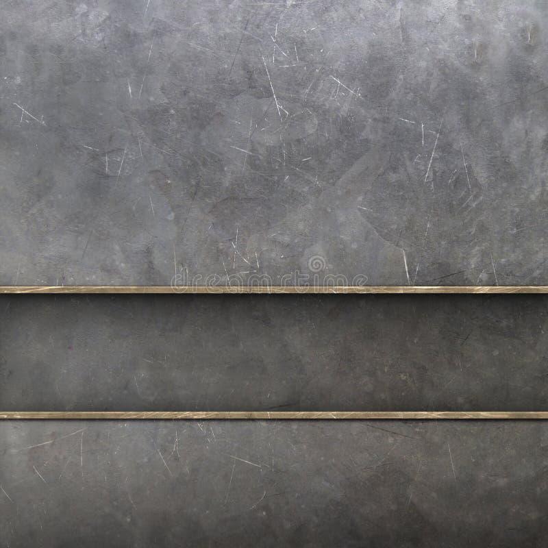 Metal texture. 2d illustration of a blue metal texture stock illustration