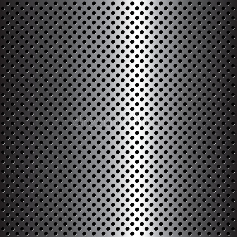 Metal texture. Abstract background with a metal texture royalty free illustration