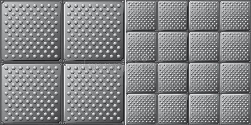 Download Metal texture background stock vector. Image of metal - 13282886