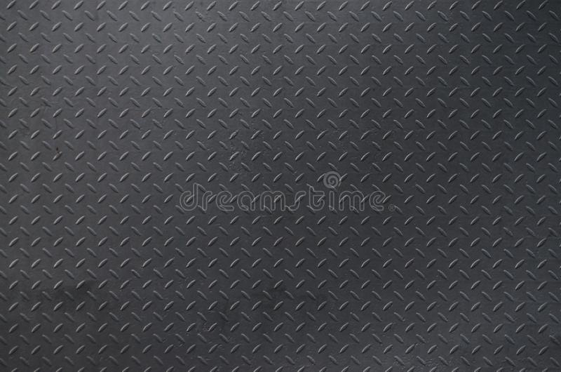 Metal texture background aluminum brushed silver. Metal floor plate with diamond pattern. Grunge background imag. E stock image