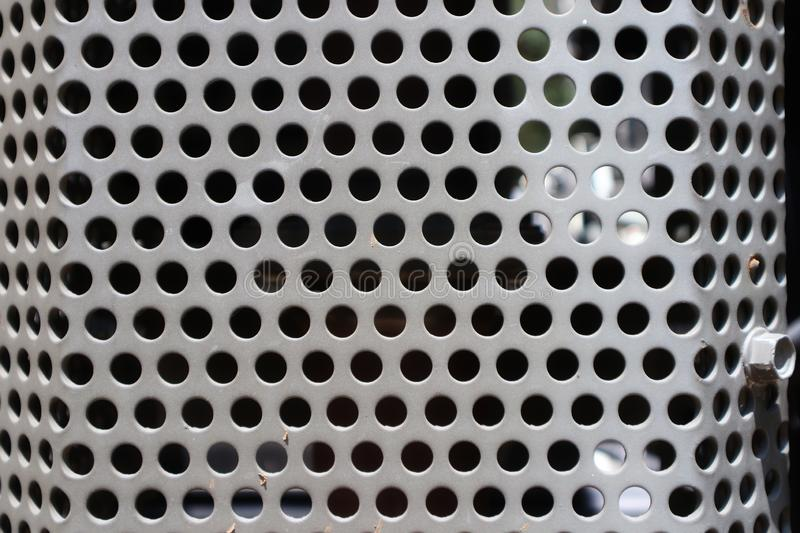 Metal texture background pattern hole pattern glossy image for the background copy space free stock photography