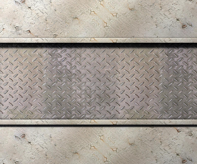 Metal texture background. Metal texture with plates background 3d illustration royalty free illustration