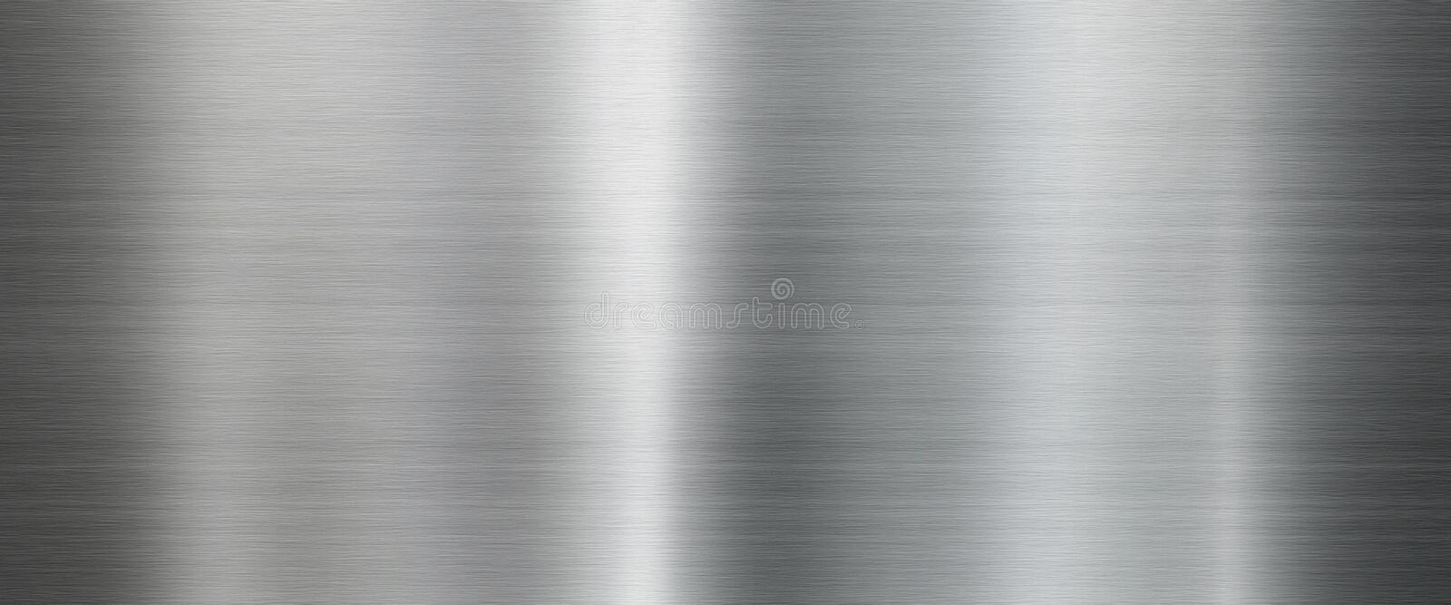 Metal texture background in silver stock images