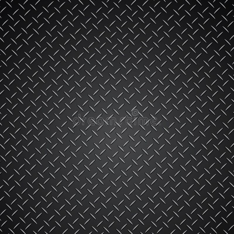 Metal texture modern steel grid pattern vector illustration