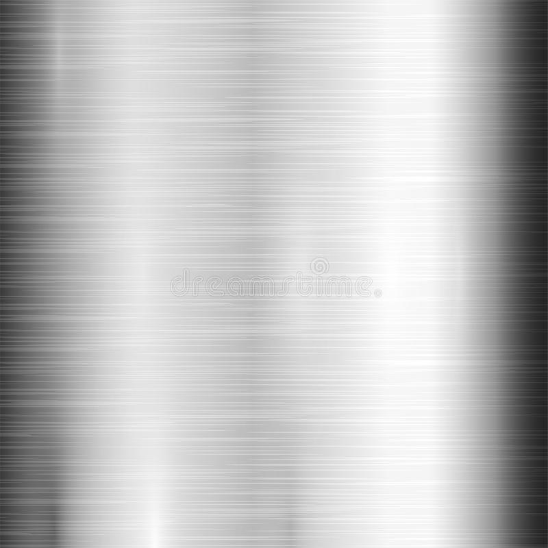Metal texture pattern background vector metallic illustration background glossy effect. Silver shiny metallic surface. Industry gray design aluminium panel vector illustration