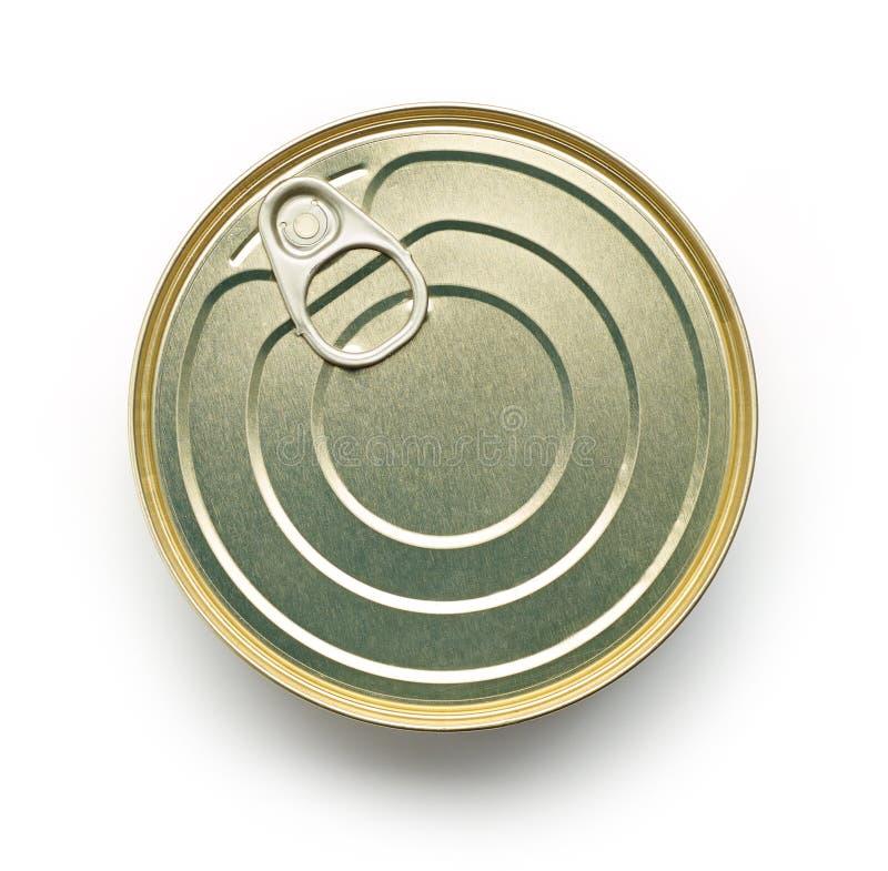 Metal Tin Can imagens de stock royalty free