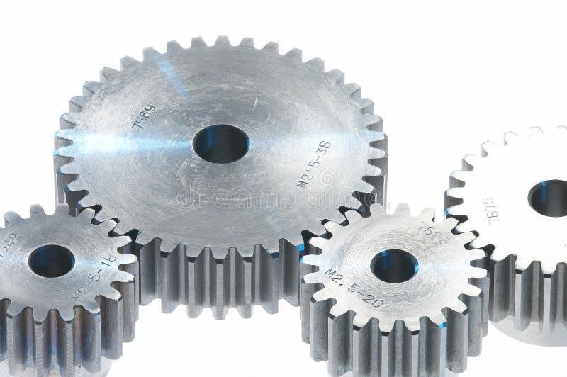 Metal toothwheels, stock photo