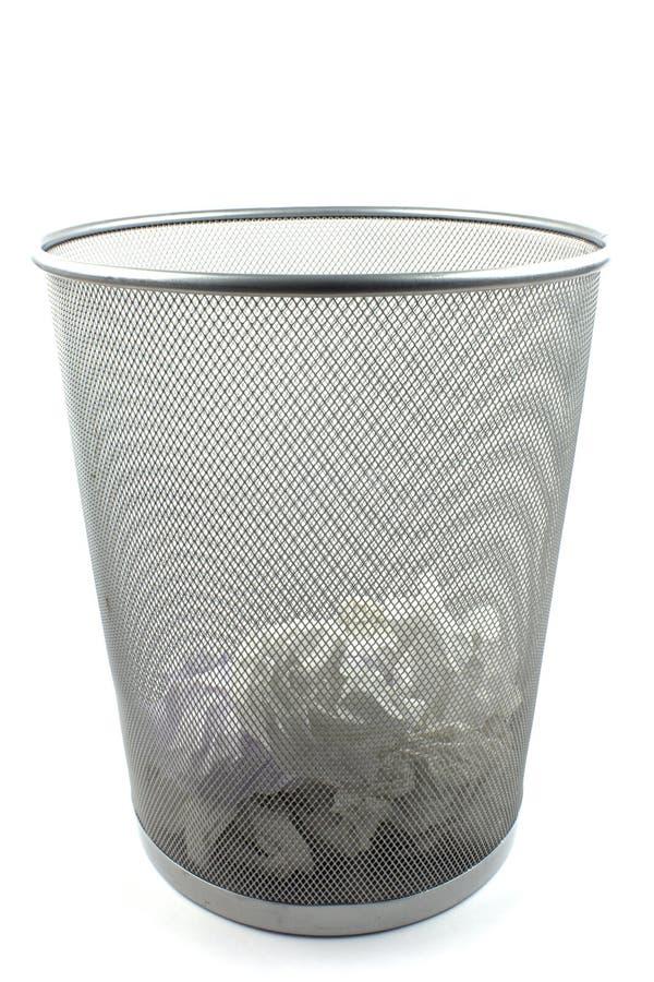 Download Metal trash bin stock image. Image of metal, industrial - 24446171