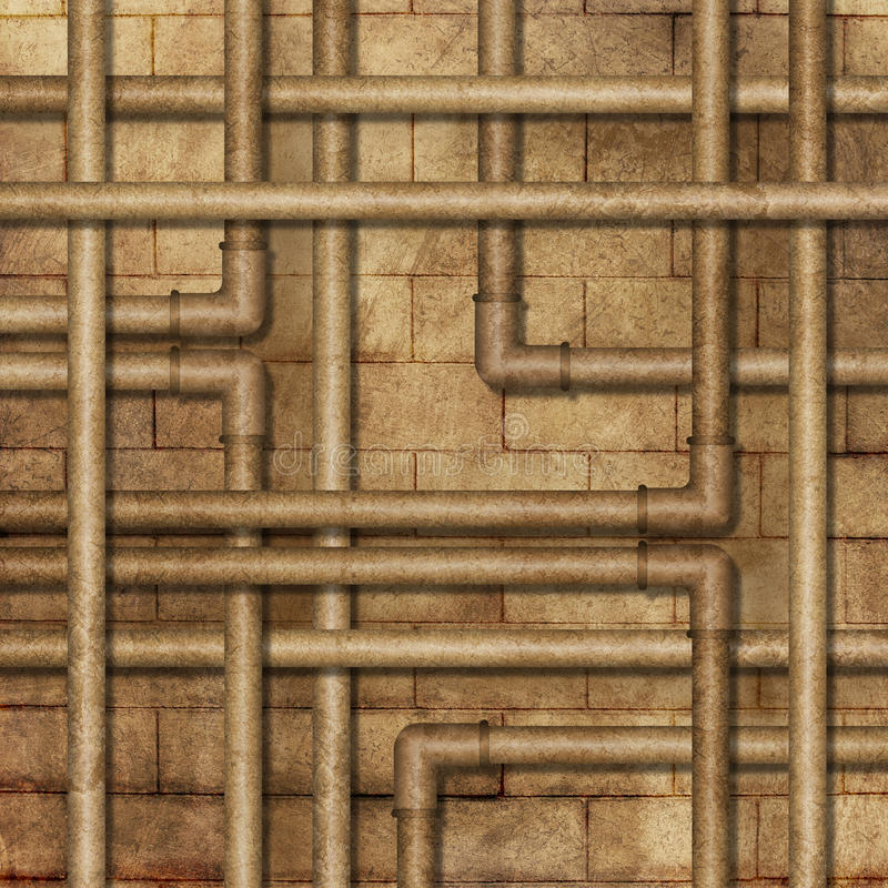 Download Metal Tube Background stock illustration. Image of industry - 20465005