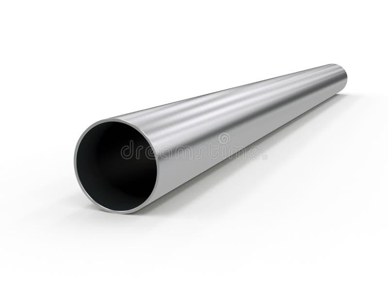 Metal a tubulação ilustração royalty free