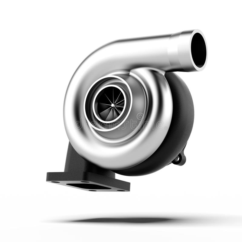 Download Metal Turbocharger stock illustration. Image of performance - 32142205